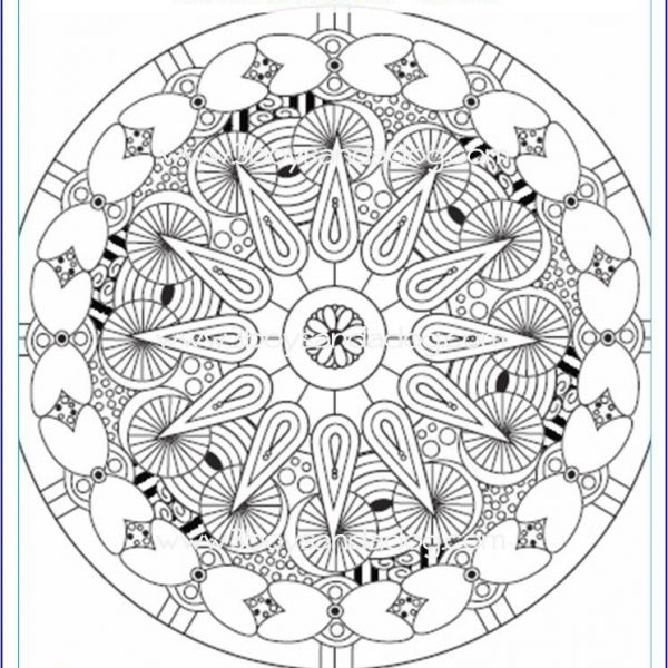 Advanced Coloring Pages Set #1