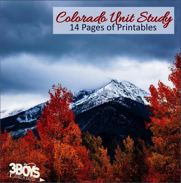 Colorado State Unit Study