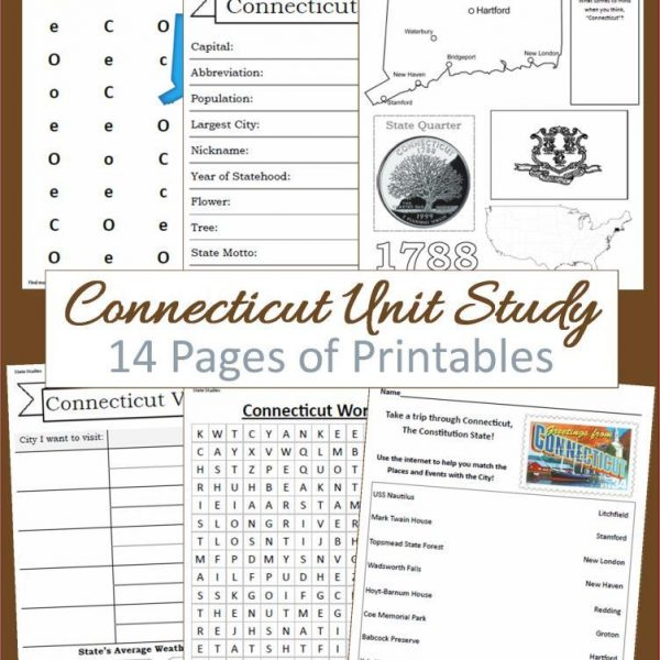 Connecticut State Unit Study