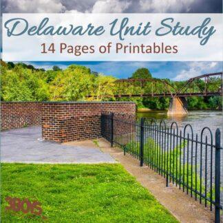 Delaware State Unit Study