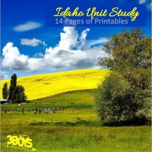 Idaho State Unit Study