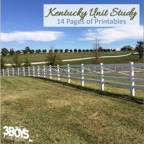 Kentucky State Unit Study