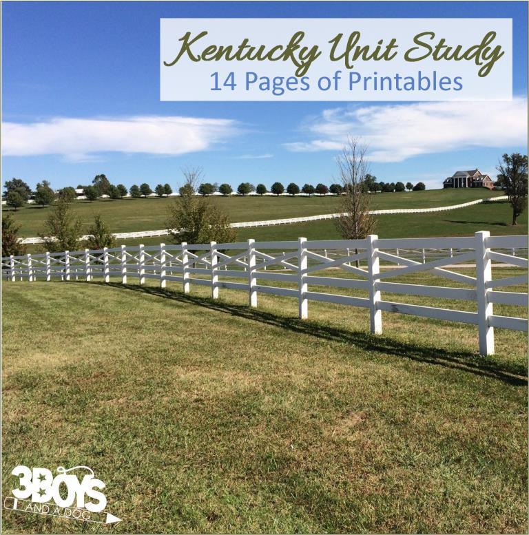 Kentucky State Unit Study