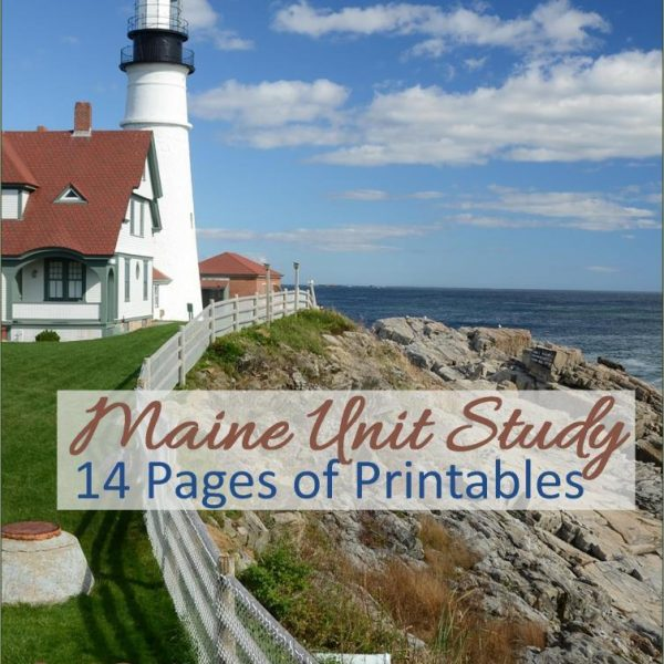 Maine State Unit Study