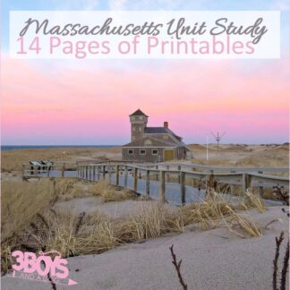 Massachusetts State Unit Study