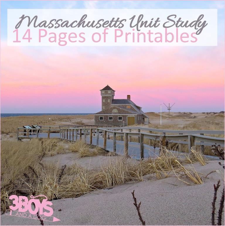Massachusetts State Unit Study