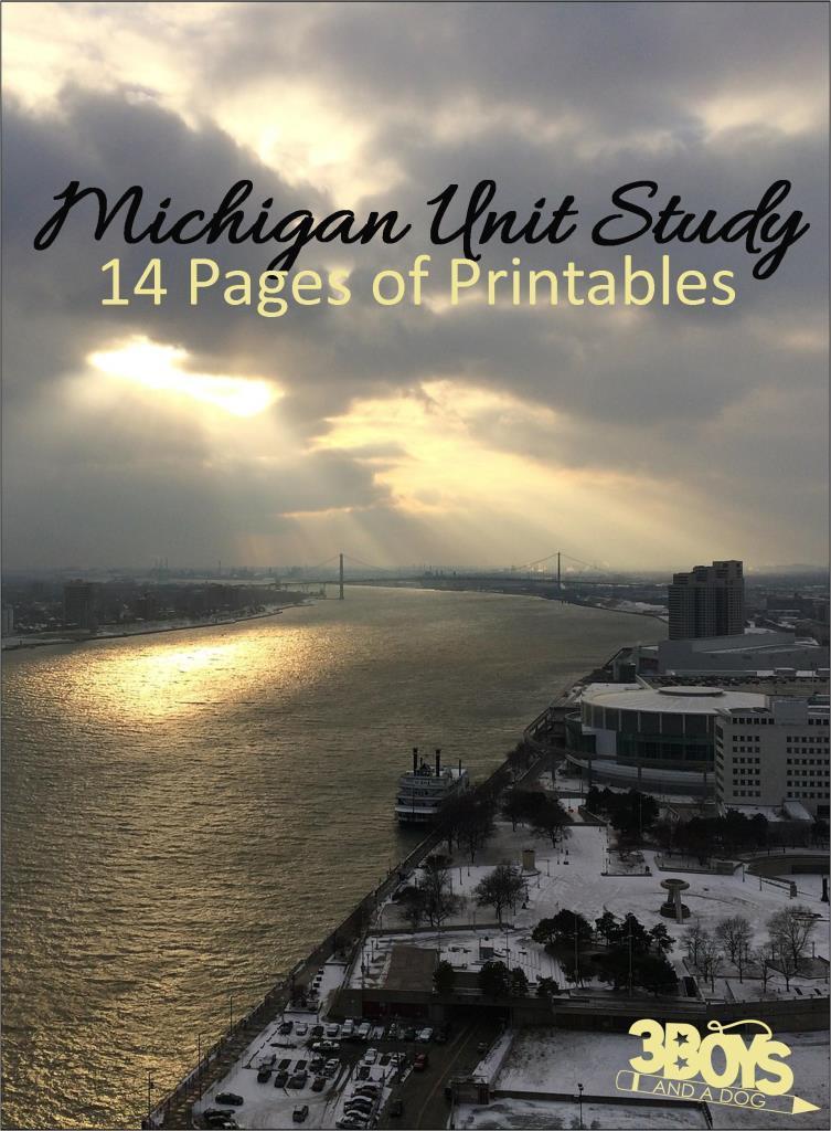 Michigan State Unit Study