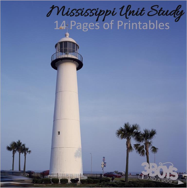 Mississippi State Unit Study