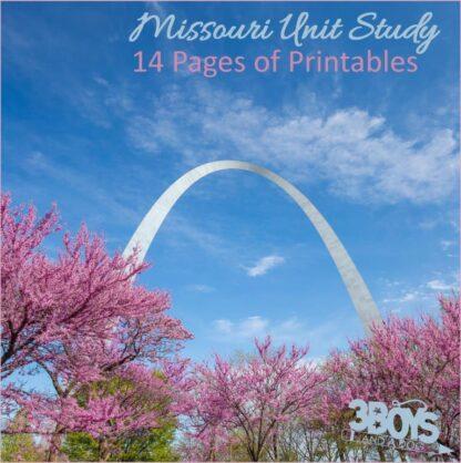Missouri State Unit Study