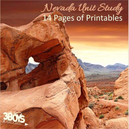 Nevada State Unit Study