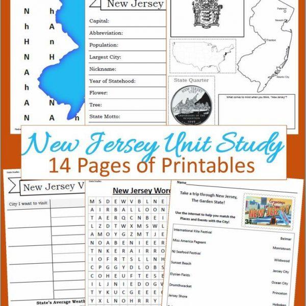 New Jersey State Unit Study