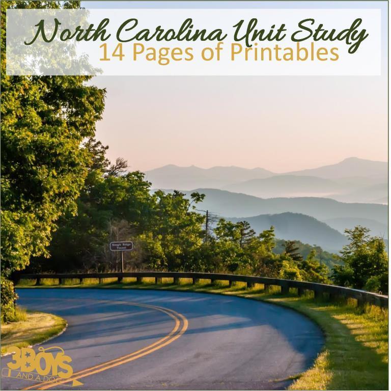 North Carolina State Unit Study