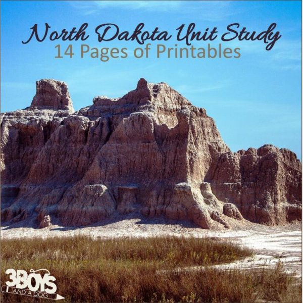 North Dakota State Unit Study
