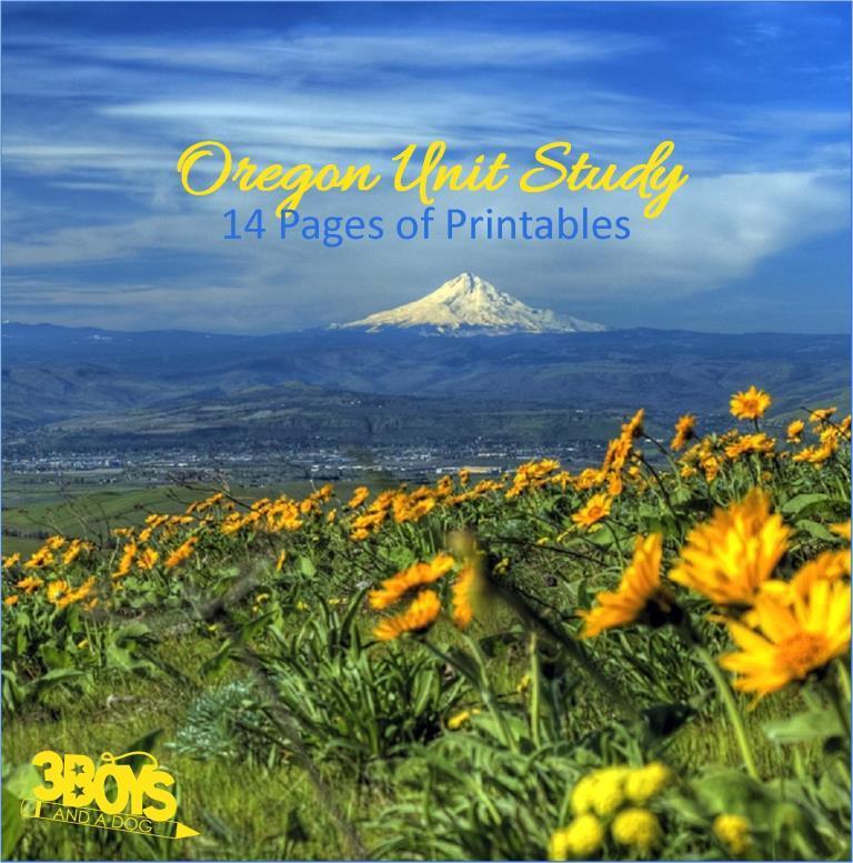 Oregon State Unit Study