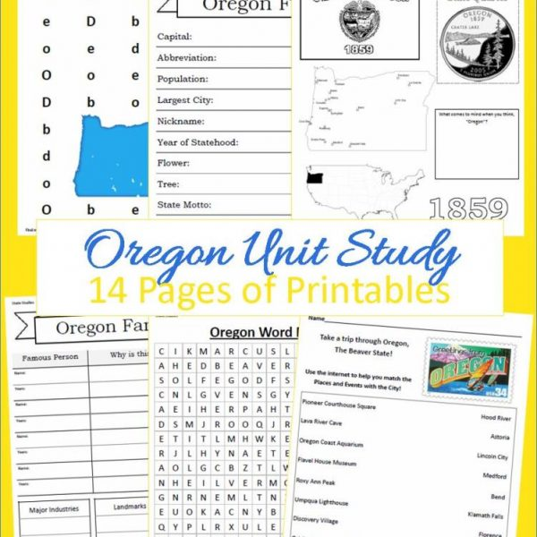 Oregon State Unit Study