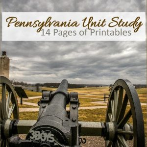 Pennsylvania State Unit Study