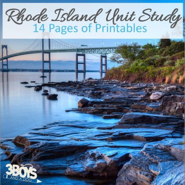 Rhode Island State Unit Study