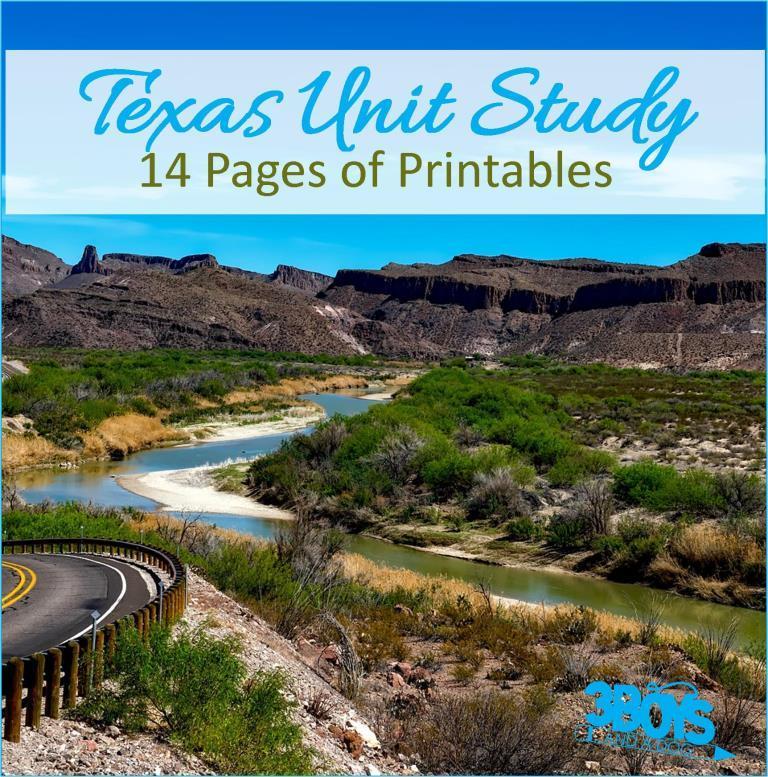 Texas State Unit Study