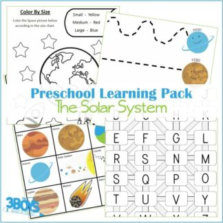 Solar System Learning Kit