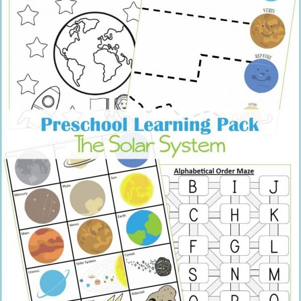 Preschool Solar System Bundle