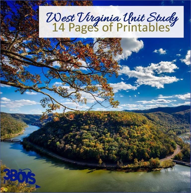West Virginia State Unit Study