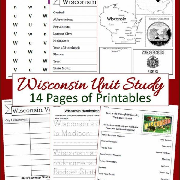 Wisconsin State Unit Study