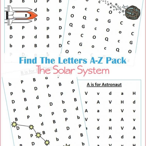 MEGA Solar System Printable Learning Kit