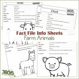 Farm Animals Fact Files