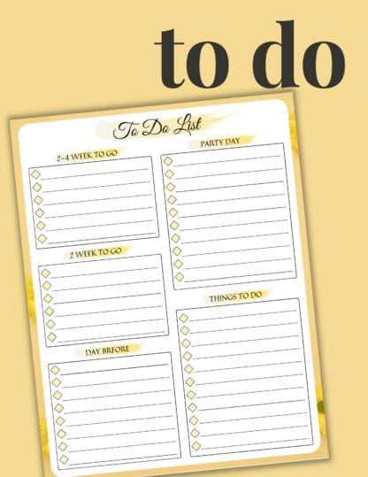 2021 Printable Planner: Yellow Daisy