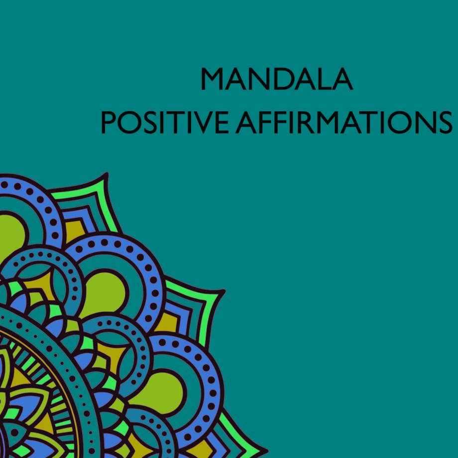 Mandala Positive Quotes Coloring Pages for Adults