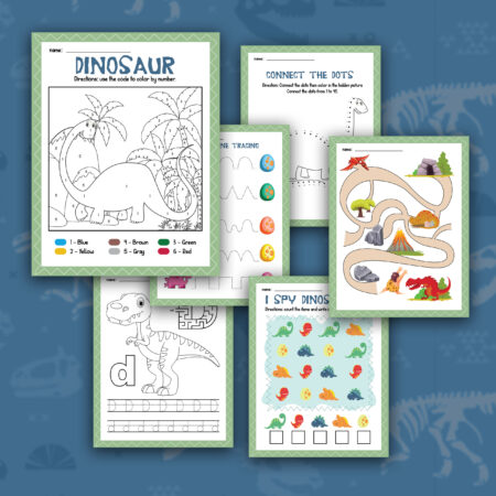 Dinosaur Activity Sheets