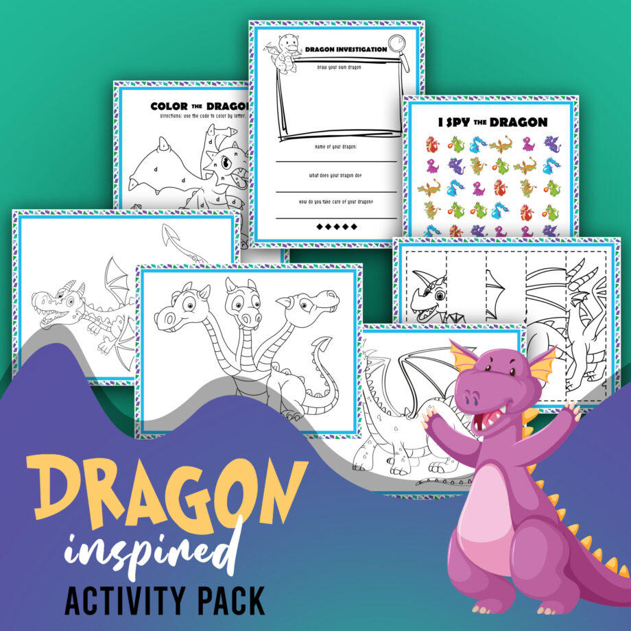 Dragon Activity Sheets