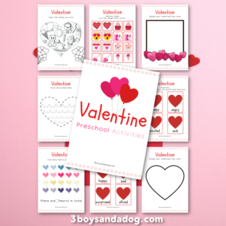 Fun Valentine Activities for Preschoolers