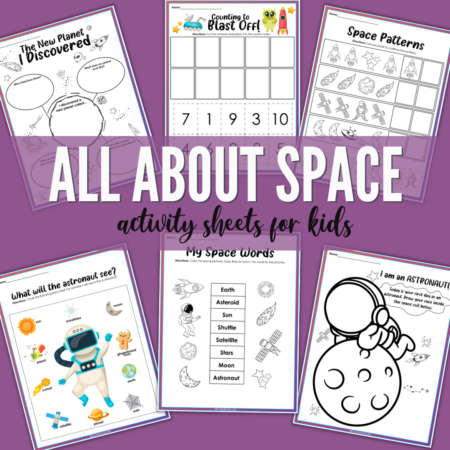 Space Activity Sheets