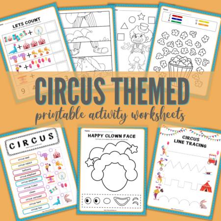 Circus Printable Activities