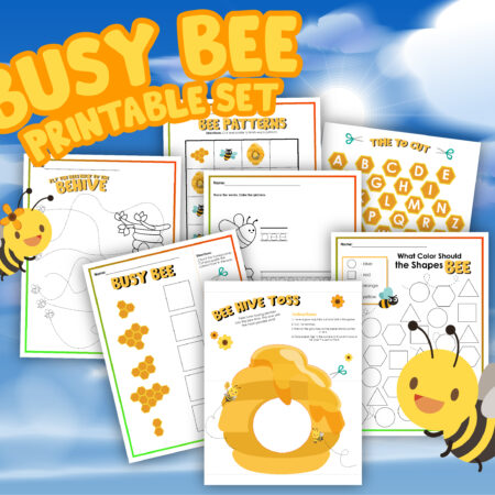 Busy Bee Printable Activities