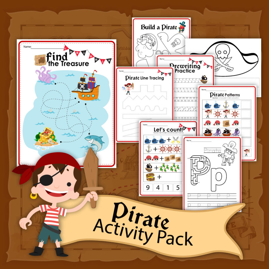 Pirate Activity Sheets
