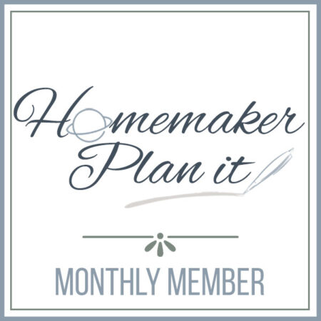Homemaker Plan It