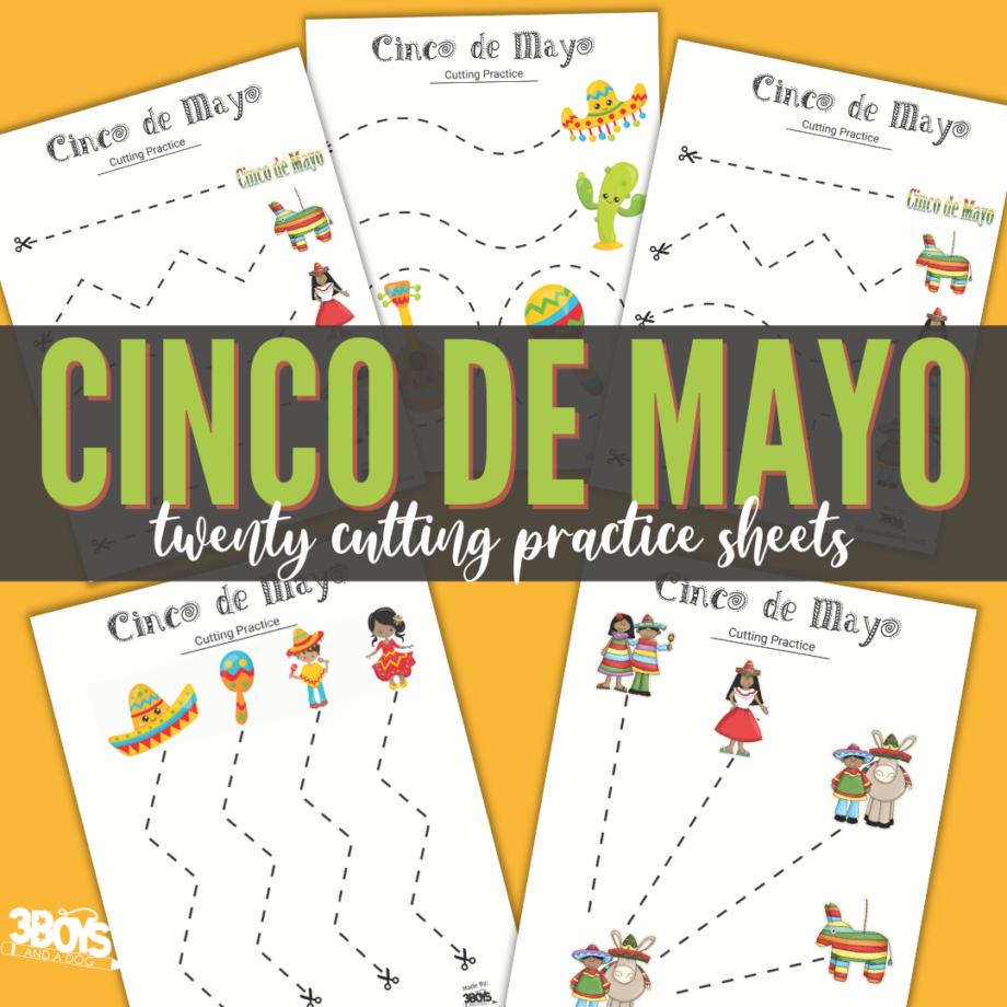 Cinco de Mayo Cutting Sheets