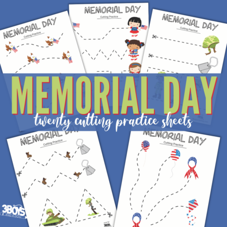 Memorial Day Cutting Sheets