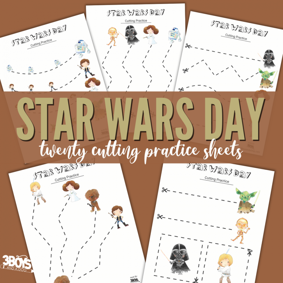 Star Wars Inspired Cutting Sheets