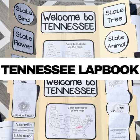 Tennessee Lapbook Elements