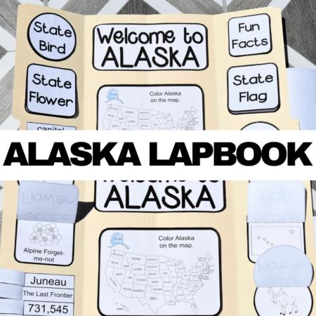 Alaska Lapbook Elements