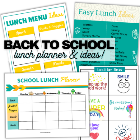 School Lunch Planner