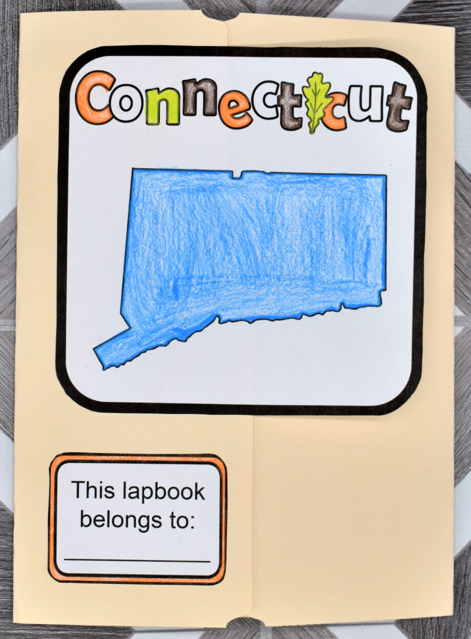 Connecticut Lapbook Elements