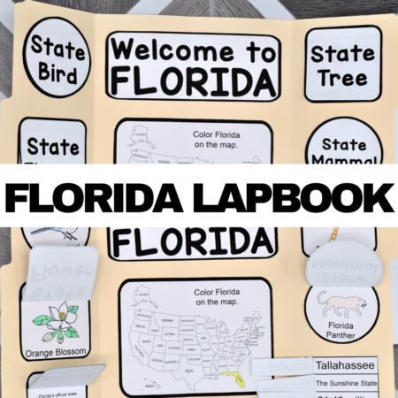 Florida Lapbook Elements