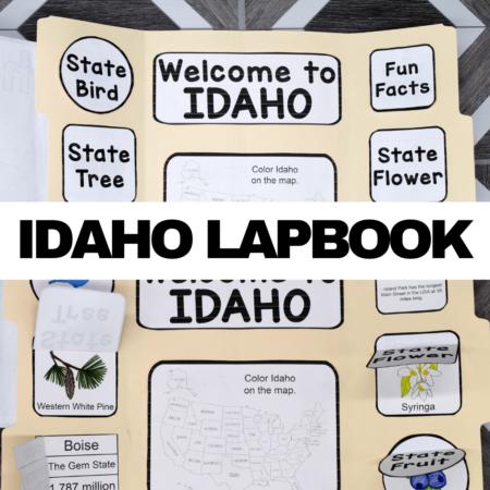 Idaho Lapbook Elements
