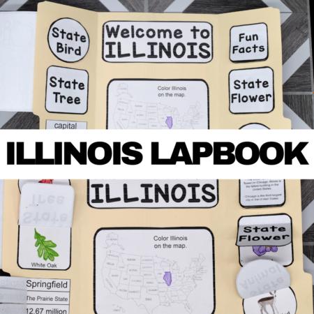 Illinois Lapbook Elements