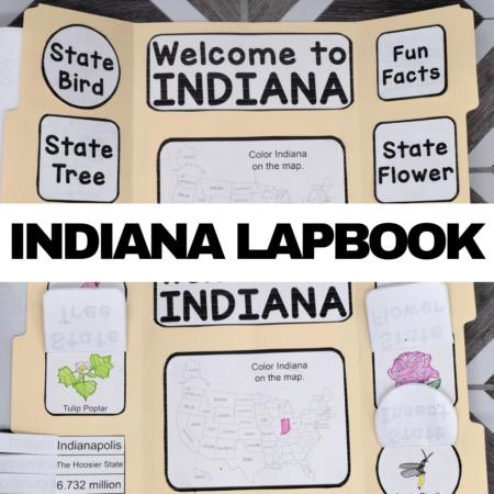 Indiana Lapbook Elements